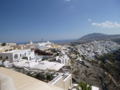 Tour to the beauties of the capital city of Fira
