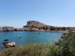 Agios Pavlos Beach (Lindos - Saint Paul´s Bay) - island of Rhodes photo 3