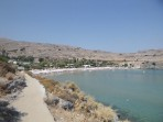Megali Paralia Beach (Lindos) - Rhodes island photo 8